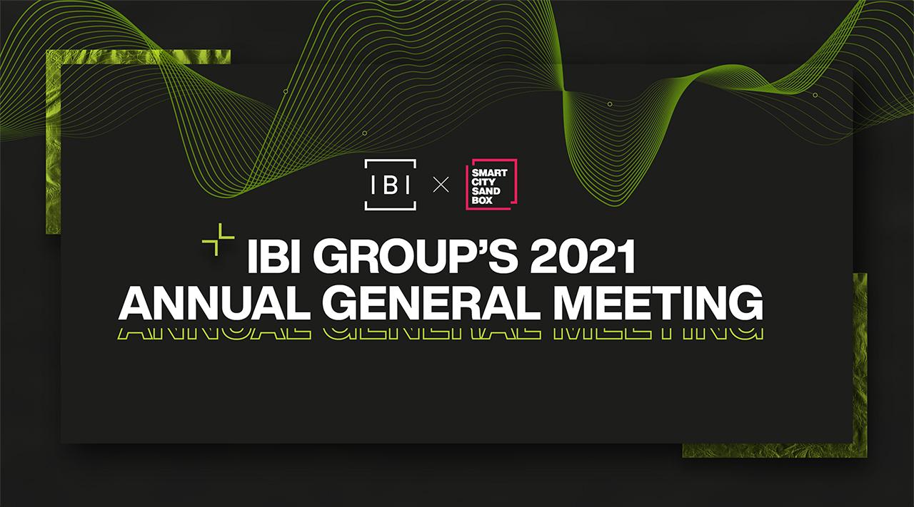 IBI Group's 2021 Annual General Meeting