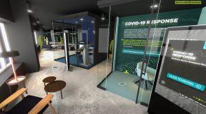 Smart City Sandbox showcasing COVID-19 Response